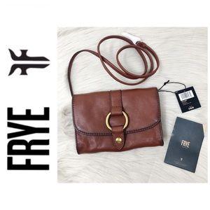 NWT Frye Cognac Crossbody Bag